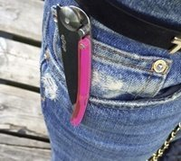 Deejo Love P!nk Knife Pocket