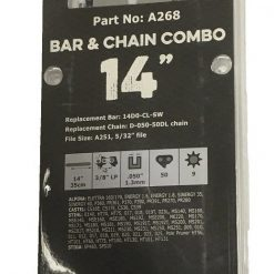 Archer 14inch Bar & Chain Combo Details