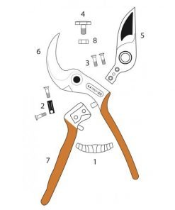 Castellari Universale Secateurs All Parts