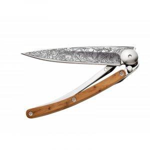 Deejo Art Nouveau Juniper Knife 27g