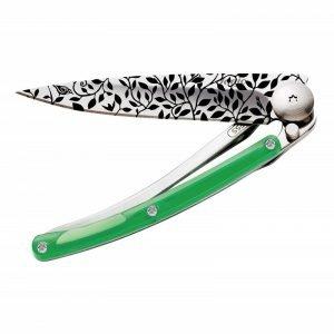 Deejo Nature Green 27g Knife