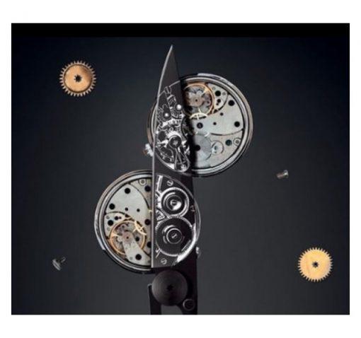 Deejo Watch Movement Key Ring Knife Inspiration 15g