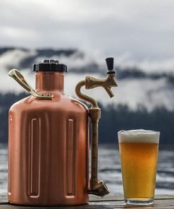Ukeg 64 copper beer growler By The Sea