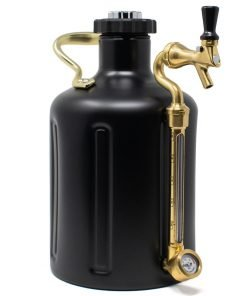 uKeg Growler 128 Matte Black