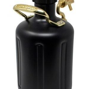 uKeg Growler 128 Matte Black3