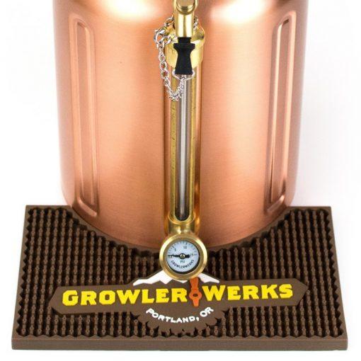 Growler 128 Bar Mat Closeup