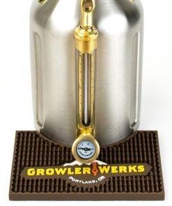 Growler 64 Bar Mat Closeup