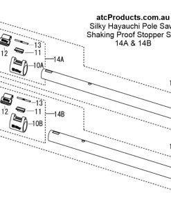 Silky Hayauchi Shaking Proof Stopper Set
