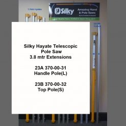 Silky Hayate 3.8mtr Telescopic Pole Saw Extensions