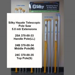 Silky Hayate 5.0mtr Telescopic Pole Saw Extensions