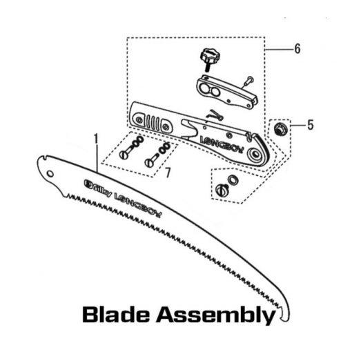 Silky Longboy Blade Assembly
