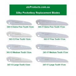 Silky Pocketboy Straight Replacement Blades