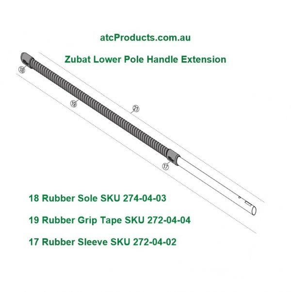 Silky Zubat Lower Pole Handle Extension
