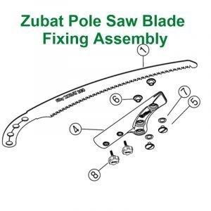 Zubat Pole Saw Blade Assembly