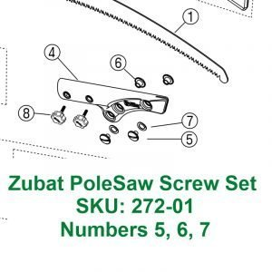 Zubat Pole Saw Screw Set