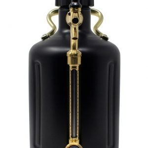 uKeg Growler 128 Matte Black2
