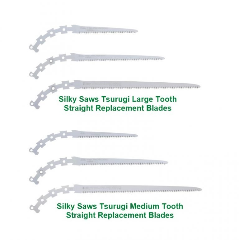 Silky Tsurugi Straight and Curved Replacement Blades