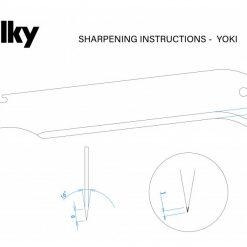 Silky Yoki Sharpening Angle16 and Depth9