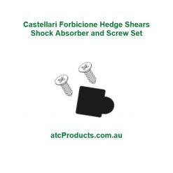 Castellari Forbicione Hedge Shears Shock Absorber and Screw Set