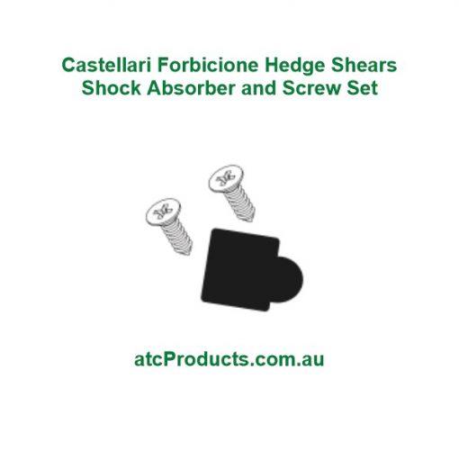 Castellari Forbicione Hedge Shears Shock Absorber and Screw Set