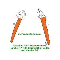 Castellari TI91 Secateur Handles