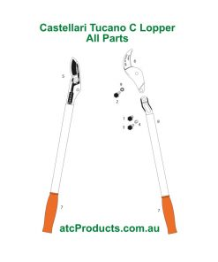 Castellari Tucano C Lopper All Parts