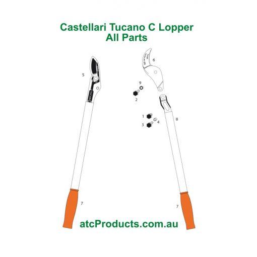 Castellari Tucano C Lopper All Parts