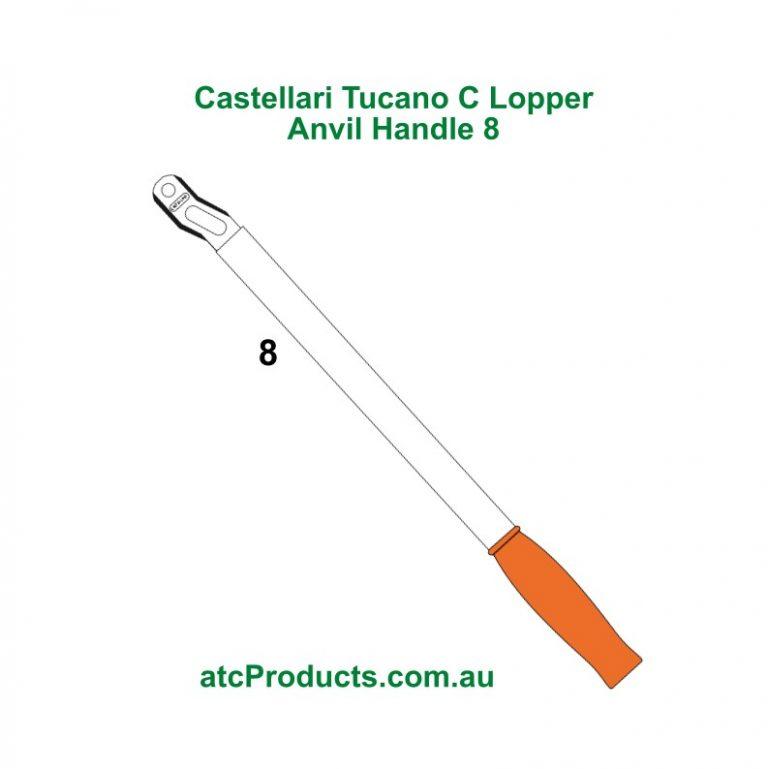 Castellari Tucano C Lopper Anvil Handle8