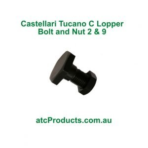 Castellari Tucano C Lopper Bolt2 & Nut9