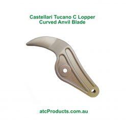 Castellari Tucano C Lopper Curved Anvil Blade