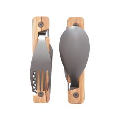 Akinod MultiFuction Cutlery 13h25 Olivewood3