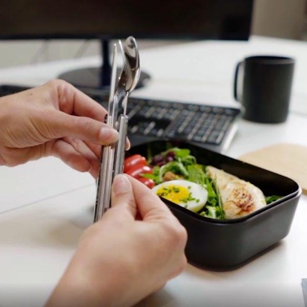 Akinod Straight Magnetic Cutlery 12H34 Jungle