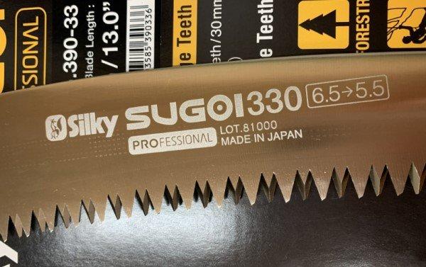 Silky Sugoi 33cm Progressive Teeth