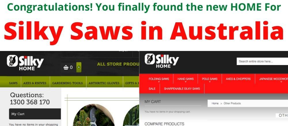 Silky Saws in Australia